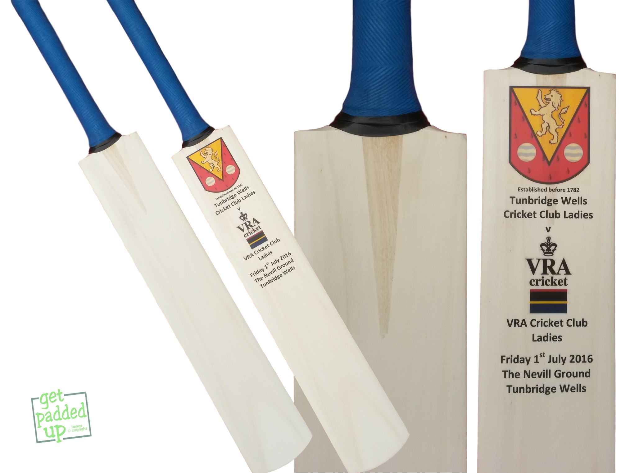 Full Size Autograph Cricket Bat, Plain or Personalised