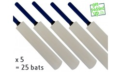 Autograph Miniature Cricket Bat 25 Pack (16.5 Inch)