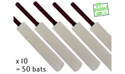 Autograph Miniature Cricket Bat 50 Pack (16.5 Inch)
