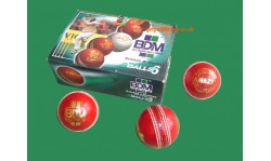 BDM Amazer Alum-Tanned Cricket Ball (Box Of 6)