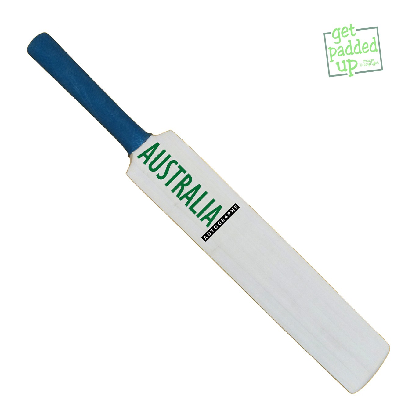 Australia Autograph Miniature Cricket Bat