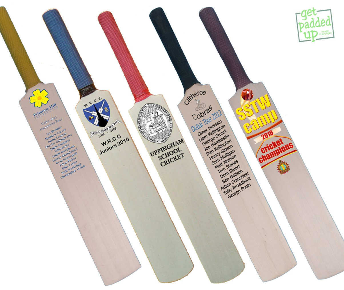 Personalised Trophy Miniature Cricket Bat