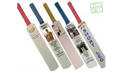 Personalised Birthday or Anniversary Miniature Cricket Bat