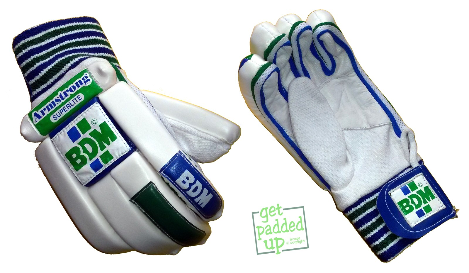 BDM Armstrong Cricket Batting Gloves