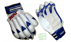 MRF League Blue Cricket Batting Gloves (Youth)