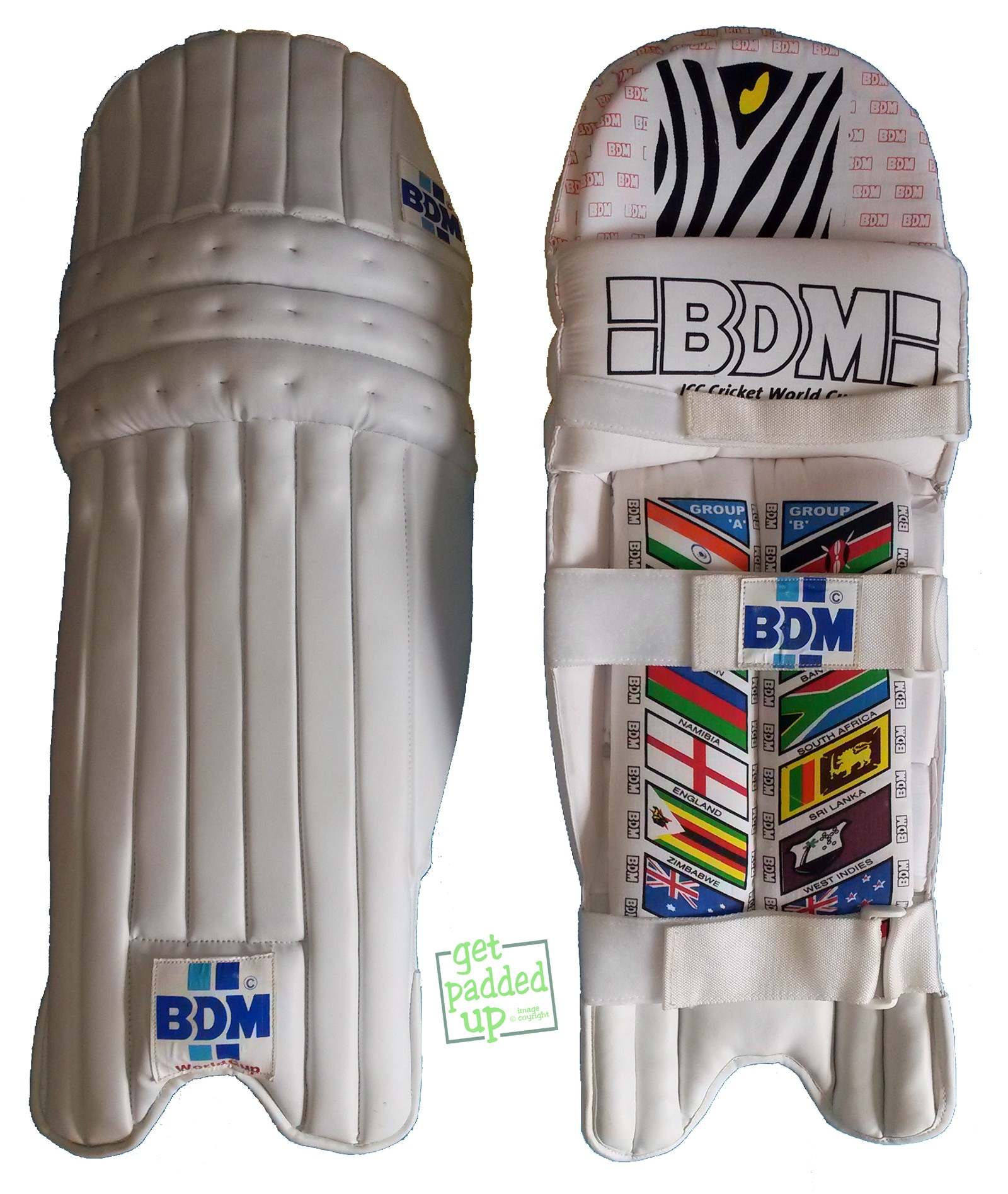 BDM World Cup Cricket Batting Pads (Youth)