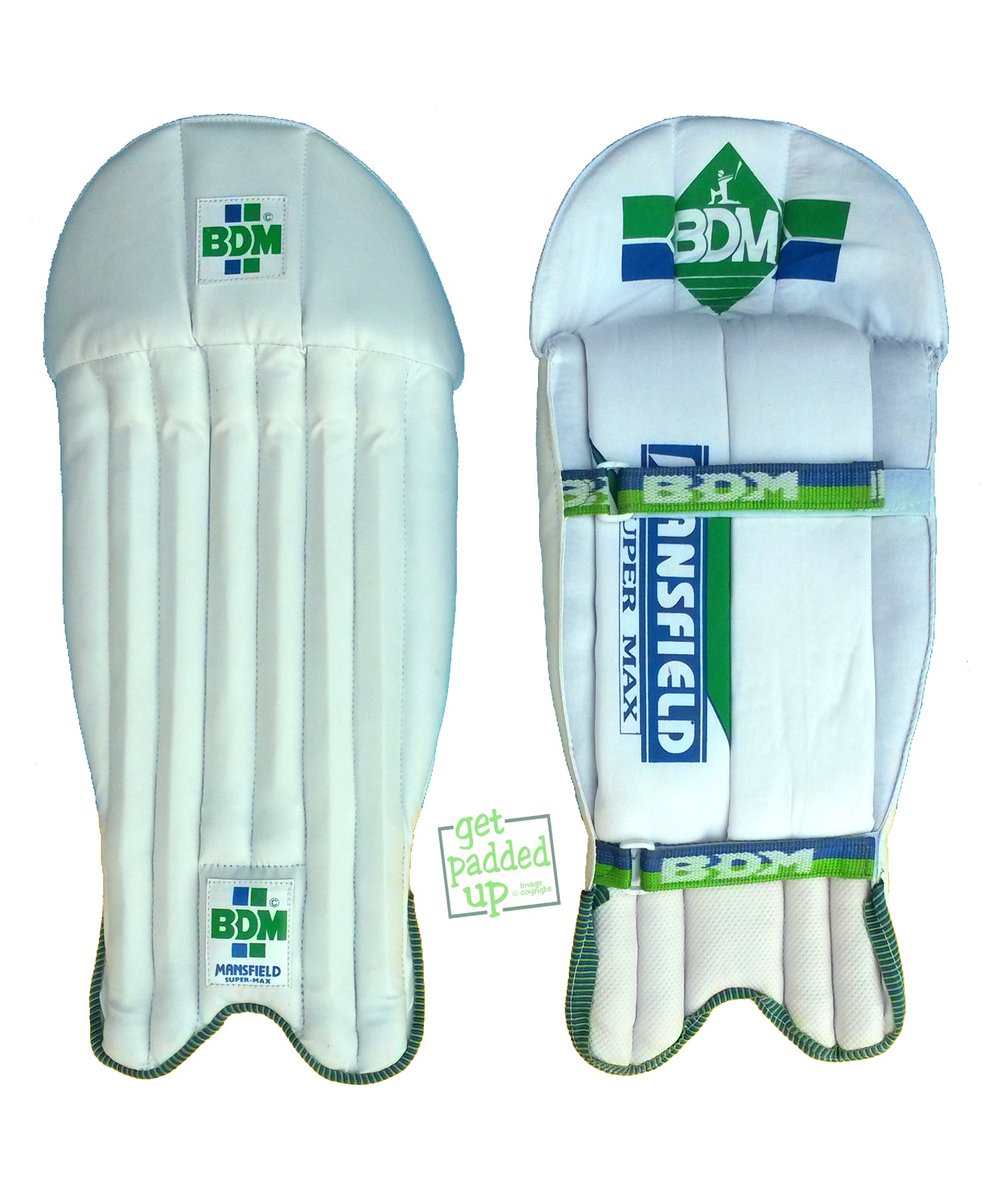 BDM Super Max Cricket Wicket Keeping Pads