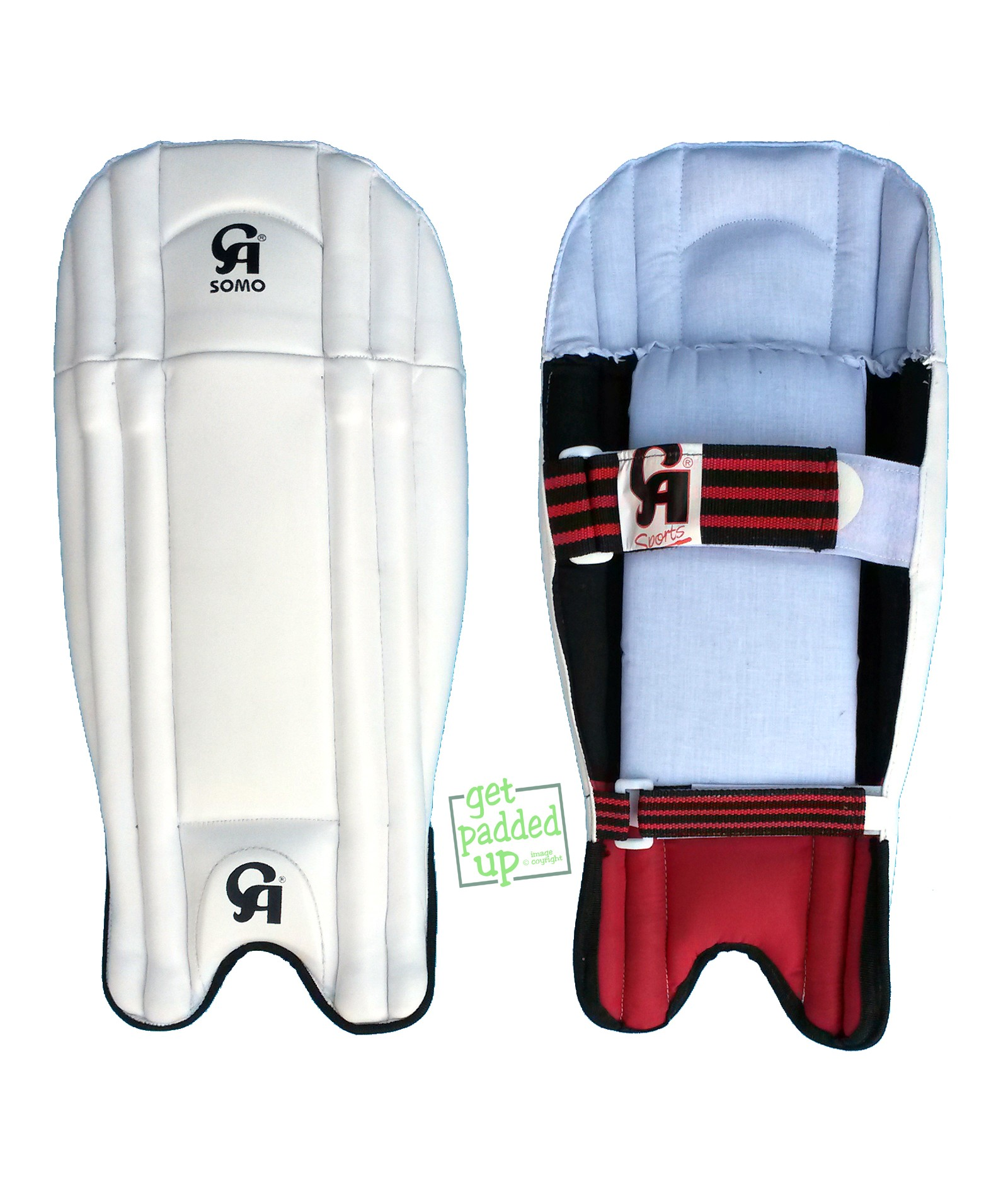CA Sports Somo Cricket Wicket-Keeping Pads (Youth)