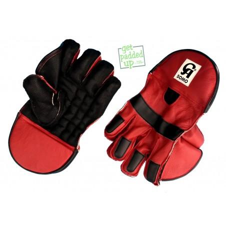 CA Sports Somo Cricket Wicket Keeping Gloves (Boys)