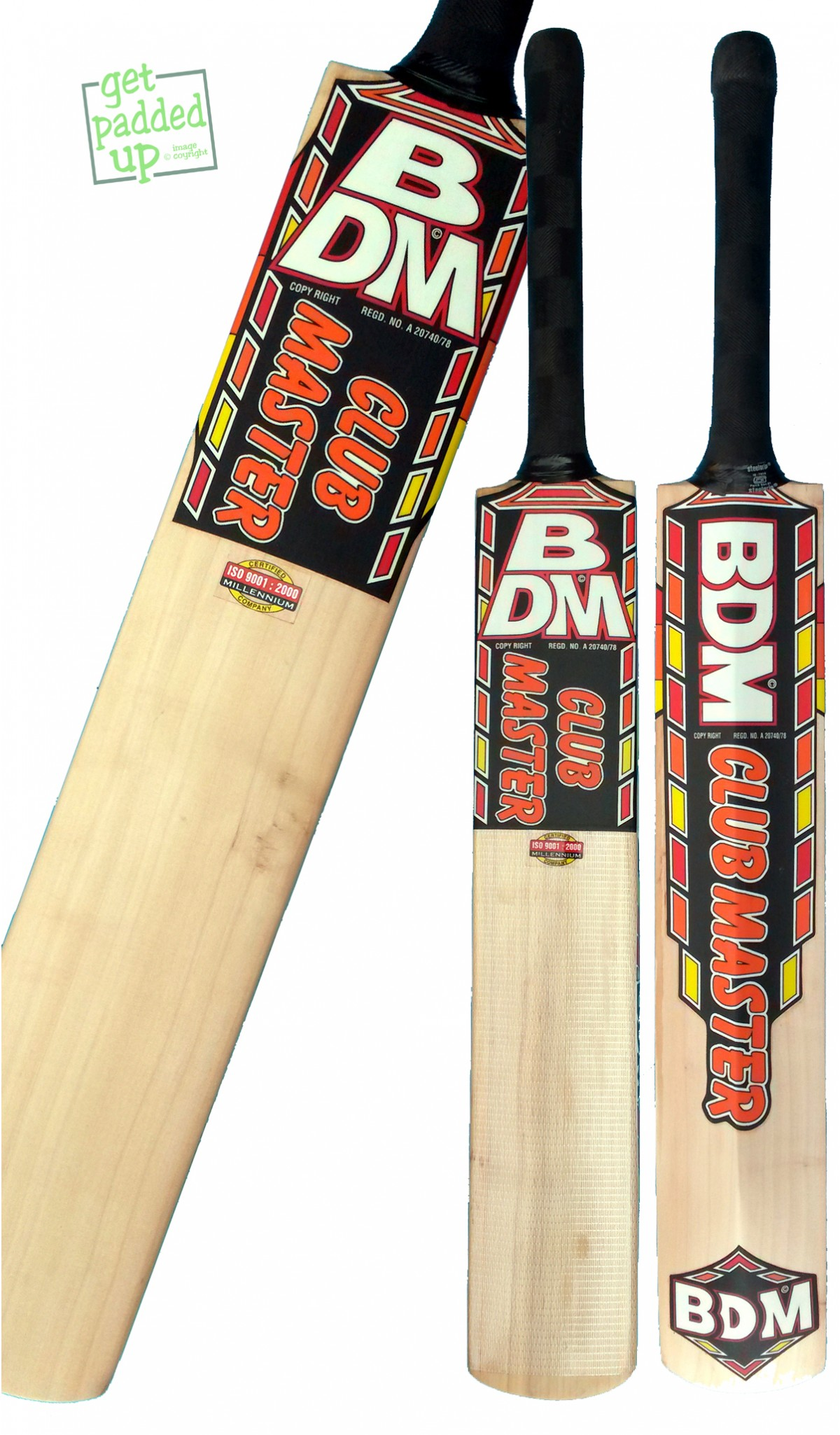 BDM Club Master Cricket Bat (Junior)