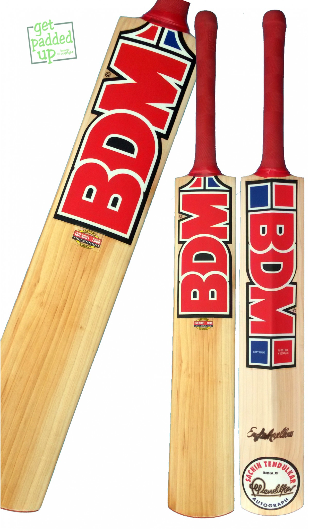 BDM Sachin Autograph Cricket Bat