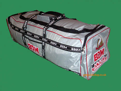 BDM AMAZER CRICKET KIT BAG (GREY)