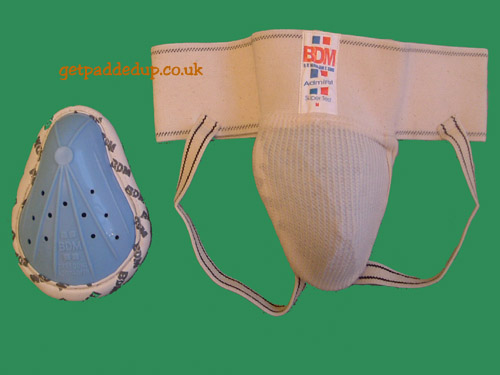 BDM CRICKET JOCK STRAP AND ABDOMINAL GUARD