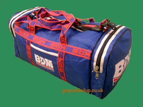 BDM CRICKET HOLDALL (PERSONAL KIT BAG, BLUE)