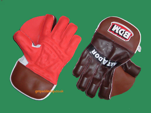 BDM MATADOR CRICKET WICKET-KEEPING GLOVES (BOYS/YOUTH)