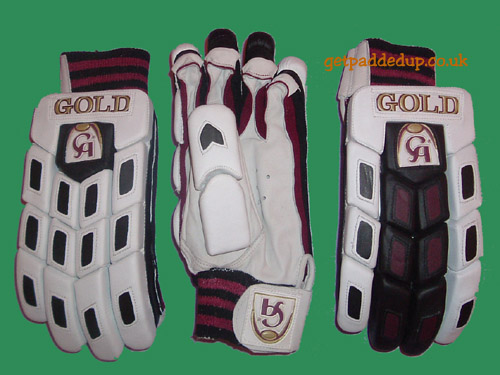 CA Sports GOLD CRICKET BATTING GLOVES (BOYS)