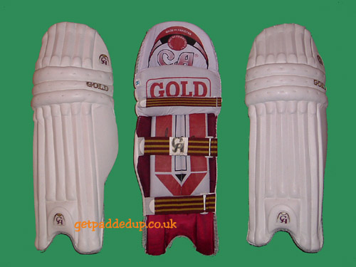 CA Sports GOLD CRICKET BATTING PADS (YOUTH)