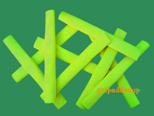 getpaddedup CHEVRON CRICKET BAT GRIP (NEON / FLUORO YELLOW)