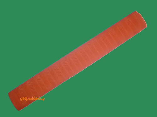 getpaddedup MATRIX CRICKET BAT GRIP (ORANGE)