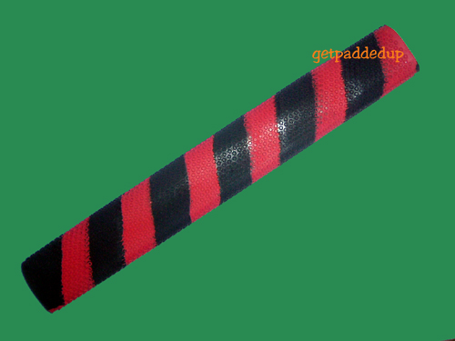 getpaddedup OCTOPUS CRICKET BAT GRIP (RED/BLACK)