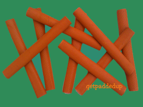 getpaddedup SCALE/SNAKE CRICKET BAT GRIP (ORANGE)