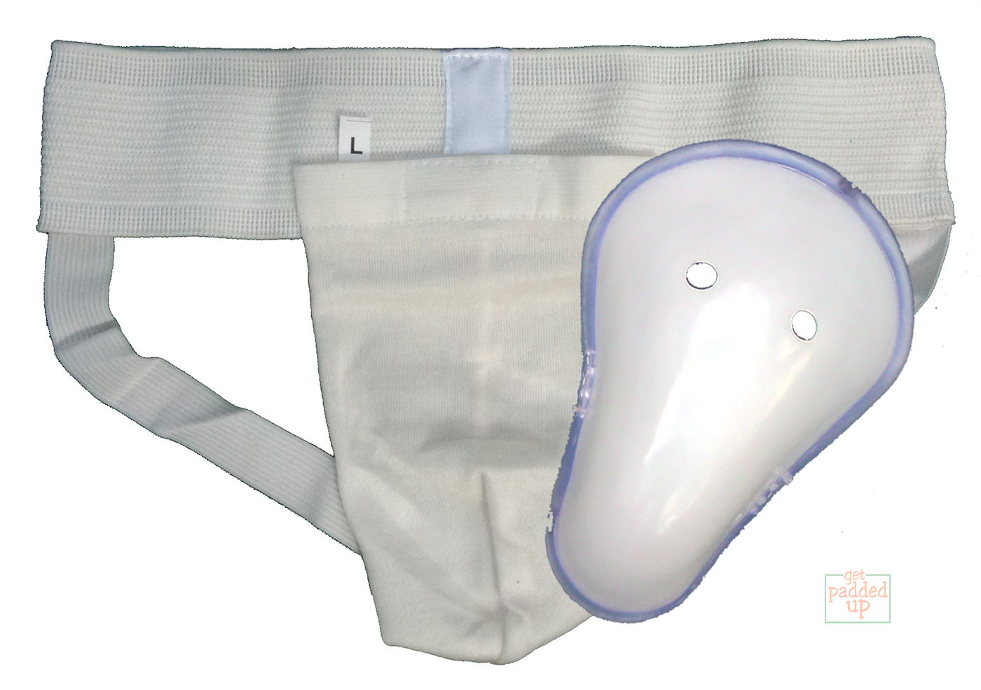 getpaddedup ULTRA CRICKET JOCK STRAP AND ABDOMINAL GUARD