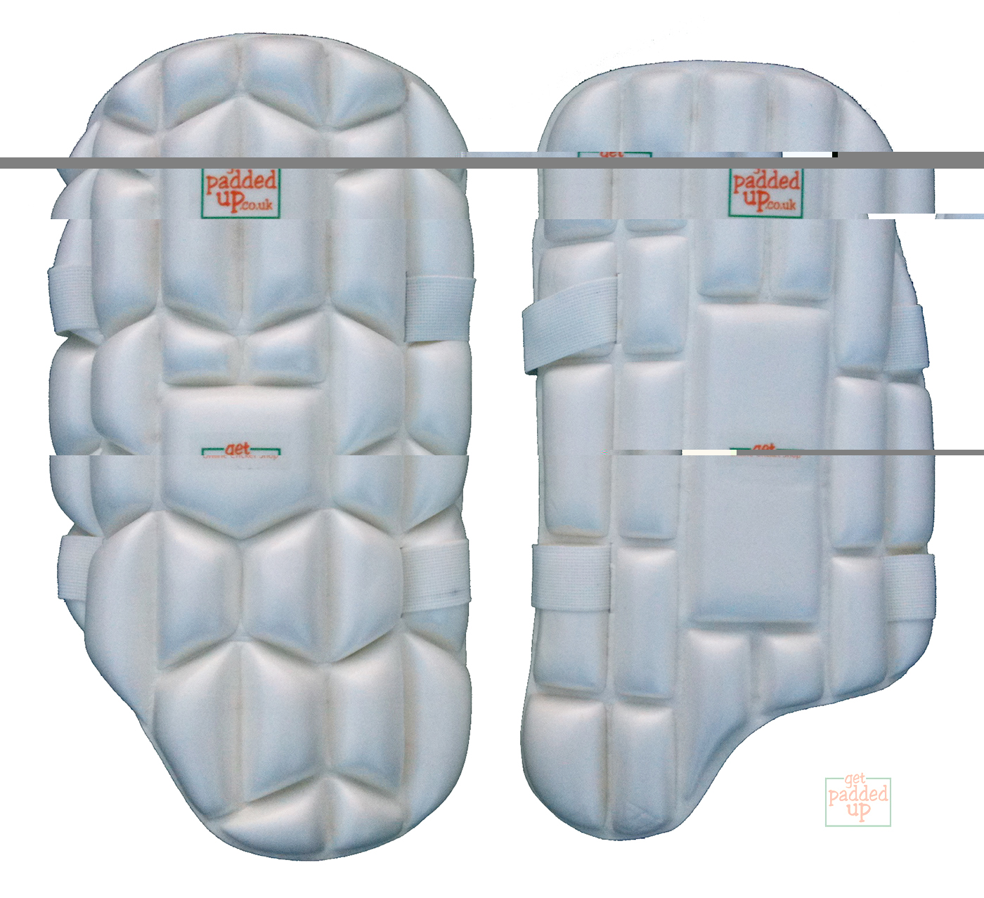getpaddedup ULTRA BUBBLE MOLDED CRICKET THIGH PAD (YOUTH)