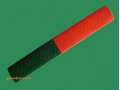 getpaddedup OCTOPUS HALF-N-HALF CRICKET BAT GRIP (GREEN/ORANGE)