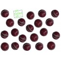 Mini Miniature Leather Cricket Balls (Pack of 12)
