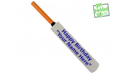Personalised `Happy Birthday` Mini Miniature Cricket Bat