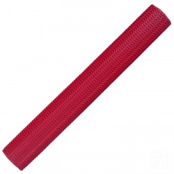 Red Aqua Wave Cricket Bat Grip