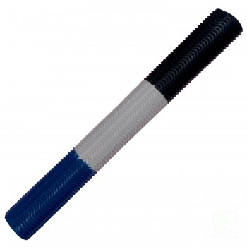 Navy Blue / White / Black Aqua Wave Cricket Bat Grip