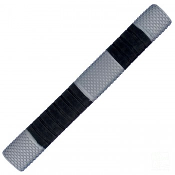 Silver and Black Penta Cricket Bat Grip
