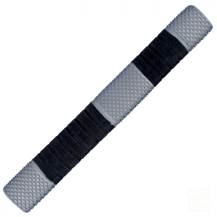 Silver and Black Penta Cricket Bat Grip