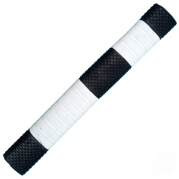 Black and White Penta Cricket Bat Grip