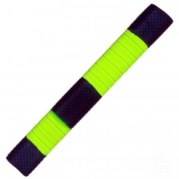 Neon Yellow and Black Penta Cricket Bat Grip