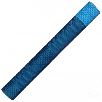 Steel Blue and Sky Blue Penta Cricket Bat Grip
