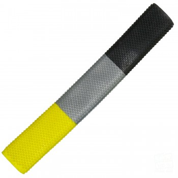Yellow, Silver, Black Octopus Cricket Bat Grip