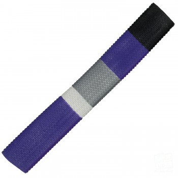 Purple, Black, Silver, White Octopus Cricket Bat Grip
