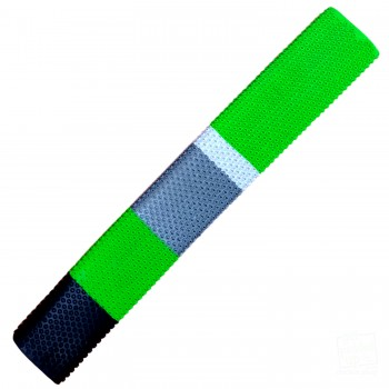 Lime Lime Green, Black, Silver, White Octopus Cricket Bat Grip