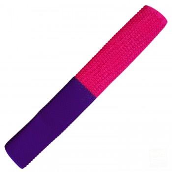 Neon Pink / Purple Octopus Cricket Bat Grip