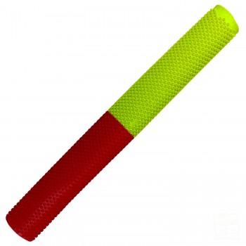 Red / Neon Yellow Octopus Cricket Bat Grip