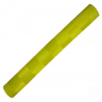 Neon / Fluoro Yellow Chevron Lite Cricket Bat Grip