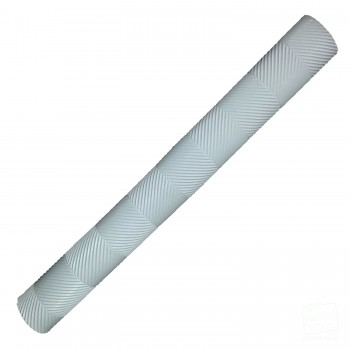 White Chevron Lite Cricket Bat Grip