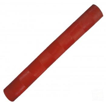 Red Chevron Cricket Bat Grip