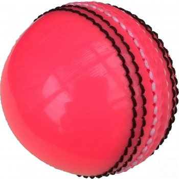 Pink Practice Coaching Cricket Ball