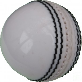 White Practice Coaching Cricket Ball