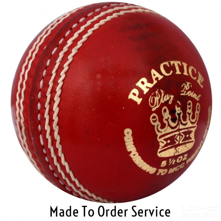 """Made To Order """"Practice"""" Cricket Balls : Box of 30"""