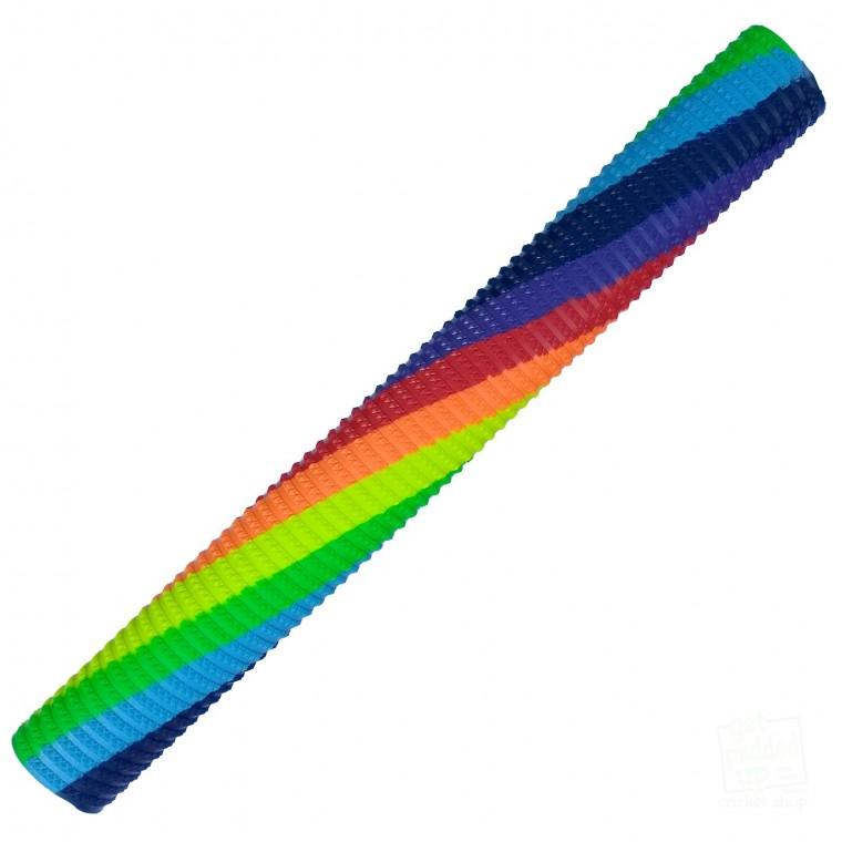 Spiral Rainbow Bracelet Cricket Bat Grip