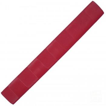 Red Chevron Lite Cricket Bat Grip